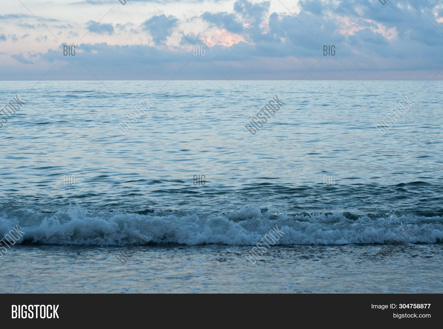 Summer Dusk Coastline Image & Photo (Free Trial) | Bigstock