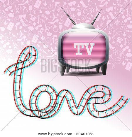 Love television symbols