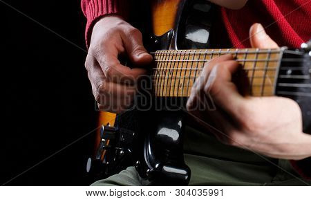 Play The Guitar. Live Music. Music Festival. Electric Guitar, Guitarist, Musician Rock. Musical Inst