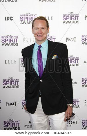 SANTA MONICA, CA - FEB 25: Carson Kressley at the 2012 Film Independent Spirit Awards on February 25, 2012 in Santa Monica, California