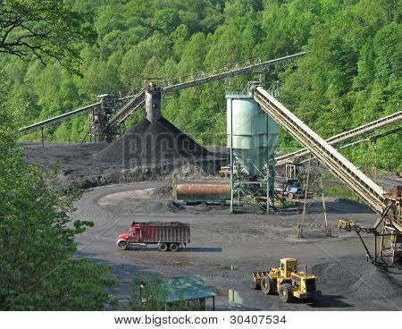 Coal processing facility in Kentucky