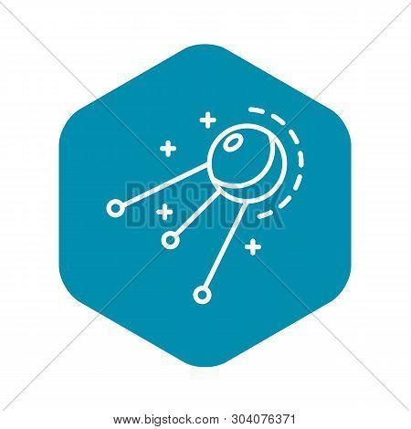 Satellite Icon. Outline Satellite Vector Icon For Web Design Isolated On White Background