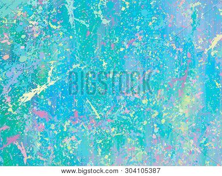 Opal Gemstone Background. Trendy Vector Template For Holiday Designs, Invitation, Card, Wedding, Sav