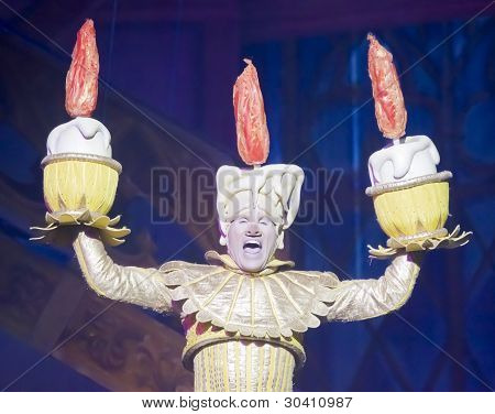 Lumiere The Singing Candlestick