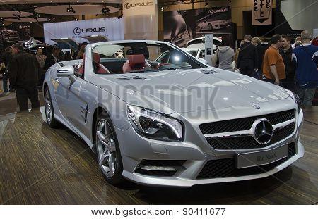 Mercedes Benz The New SL