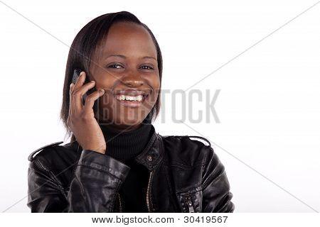 Friendly telephone conversation