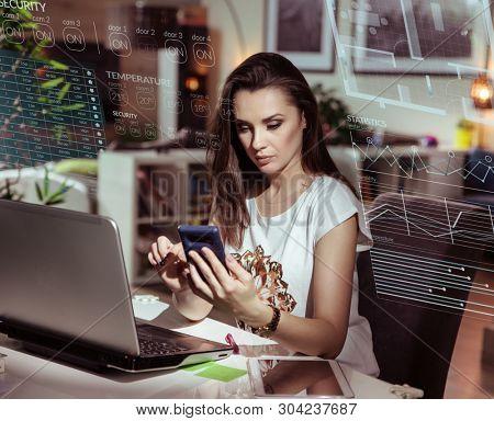 Smart home automation control concept