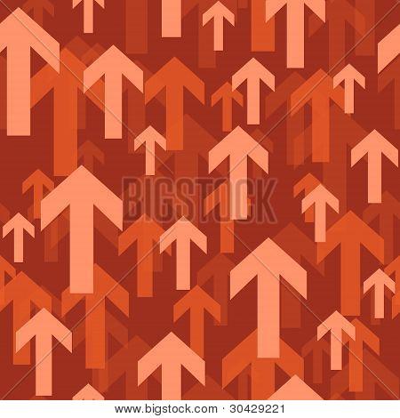 flying arrow seamless background pattern