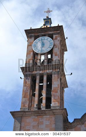 Bell And Clock Tower