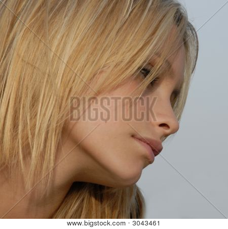 Blond Teenager