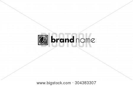 Farm Abstract Gorizontal Black Vector Logo Design
