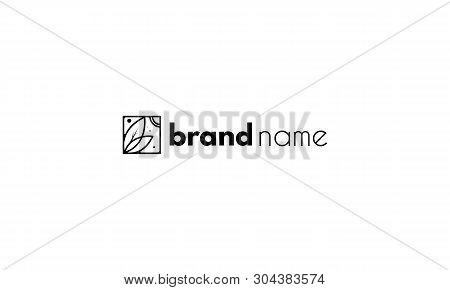 Farm Abstract Gorizontal Black Vector 2 Logo Design