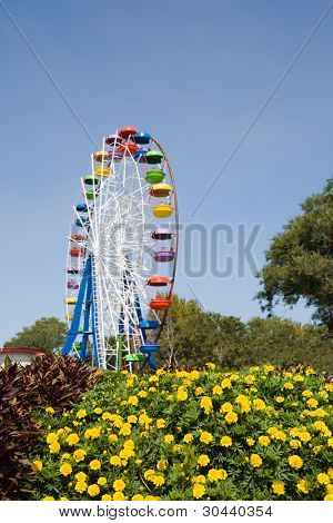 The big wheel in park.