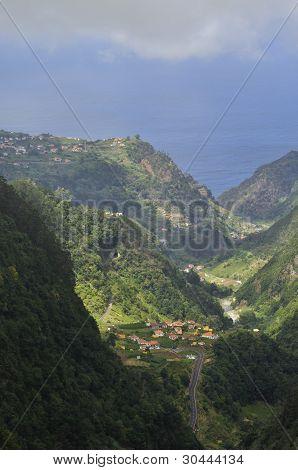 Little Village On Madeira Island