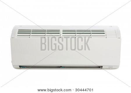 Inner block of a new air conditioner. Modern design.