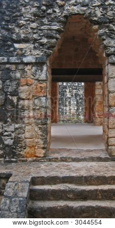 Arch Doorway At Ek Balam