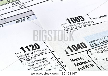 Tax forms 104011201065. U.S Income Tax Return. poster