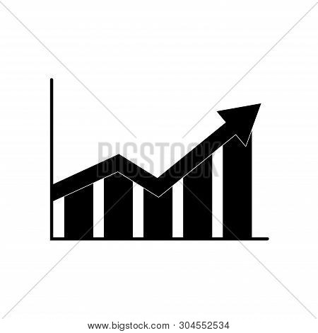 Pictograph Graph Icon. Business Object. Vector Illustration.