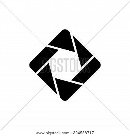 Diaphragm Logo Template Illustration Design. Vector Eps 10.