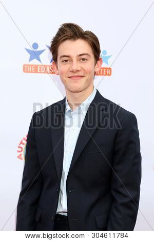 LOS ANGELES - JUN 1:  Griffin Gluck at the 7th Annual Ed Asner Poker Tournament at the CBS Studio Center on June 1, 2019 in Studio City, CA