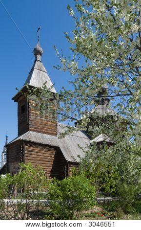 Sergiy Radonezhskiy Wooden church in Murom from Russia poster