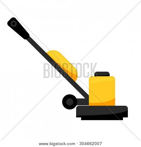 Floor Sander icon. Clipart image isolated on white background poster
