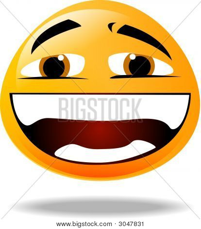 Smiley Icon - Laughing 2
