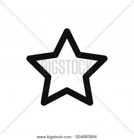 Favorite Icon Isolated On White Background. Favorite Icon In Trendy Design Style For Web Site And Mo