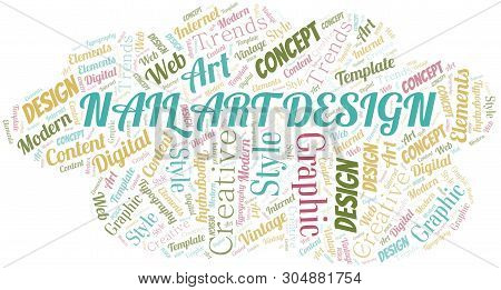 Nail Art Design Word Vector Photo Free Trial Bigstock