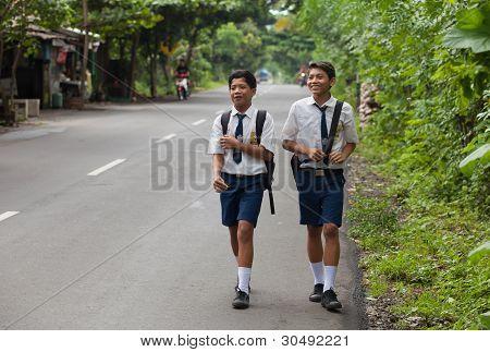 balinesischen Kinder