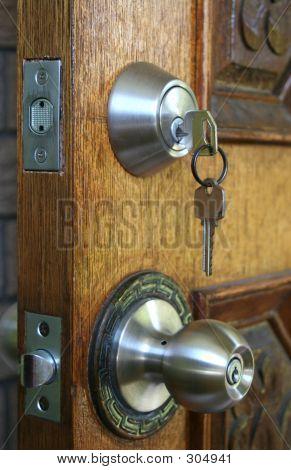 Double Deadlocked Door Security