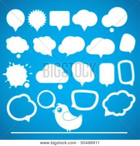 Speech bubbles collection