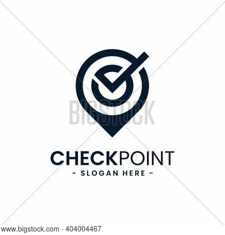 Find Location Logo Design Template. City Locator.  Check Point Icon Vector. Creative Gps Map Locatio