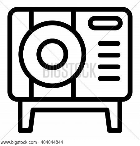 Device Consumption Icon. Outline Device Consumption Vector Icon For Web Design Isolated On White Bac