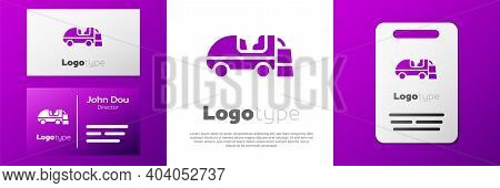 Logotype Ice Resurfacer Icon Isolated On White Background. Ice Resurfacing Machine On Rink. Cleaner