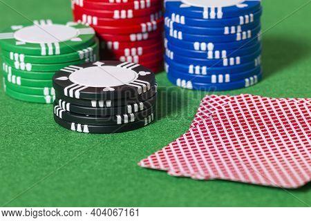 Cards, Chips, Gambling, Poker, Blackjack, Las Vegas, Texas Hold 'em