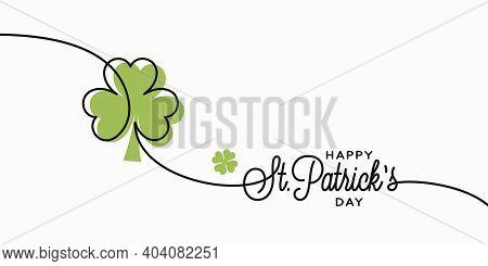 Patrick Day Card. Saint Patrick S Day Banner