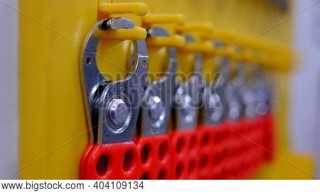 Lock Out & Tag Out , Lockout Station,machine - Specific Lockout Devices And Safety First Point