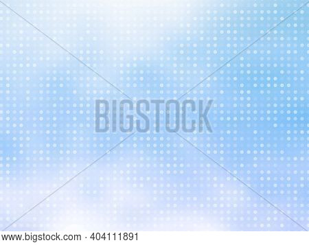 Abstract Background With Random Dot  Technology Business Concept Can Be Use As Template, Bannerใ