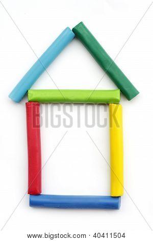 house plasticine