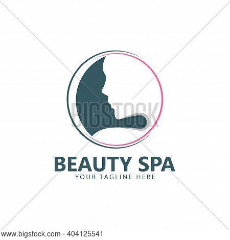 Beauty Logo Vector Spa Illustration. Vector Illustration