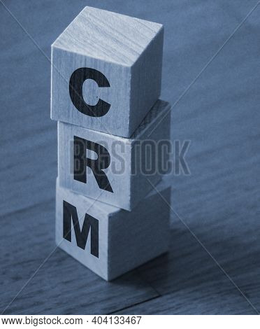 Crm, Customer Relationship Management, Loyalty Program, Repeat Purchase Frequency Concept, Cube Wood