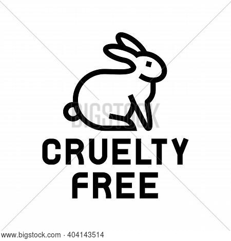 Cruelty Free Color Icon Vector. Cruelty Free Sign. Isolated Symbol Illustration