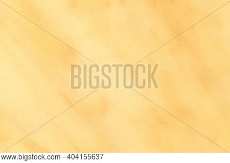 Texture Of Light Golden Marble With Yellow Lines Of Pattern, Macro Background. Abstract Ocher Stone