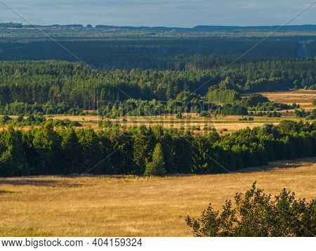 Wide Distances And Expanses Of The Mari Land. Summer In The Mari El, Russia.