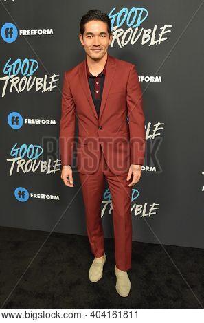 LOS ANGELES - JAN 08:  Actor Ken Kirby arrives for Freeform's
