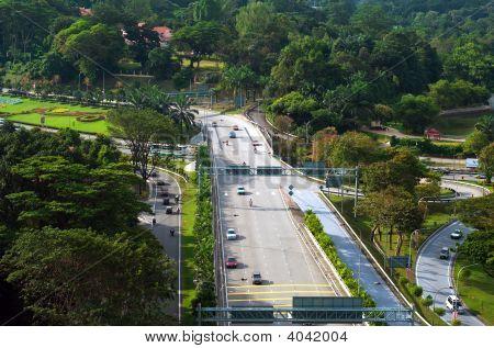 Kuala Lumpur Road Network