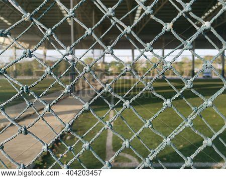 Nylon Net, Nylon Net, Football Field Background