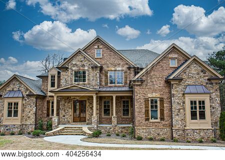 Cumming, Georgia - January 20, 2021: New Home Construction Revenue Is Expected To Grow By 10 -12 Wit