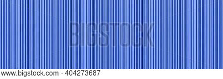 Panorama Of Blue Corrugated Metal Background And Texture Surface Or Galvanize Steel